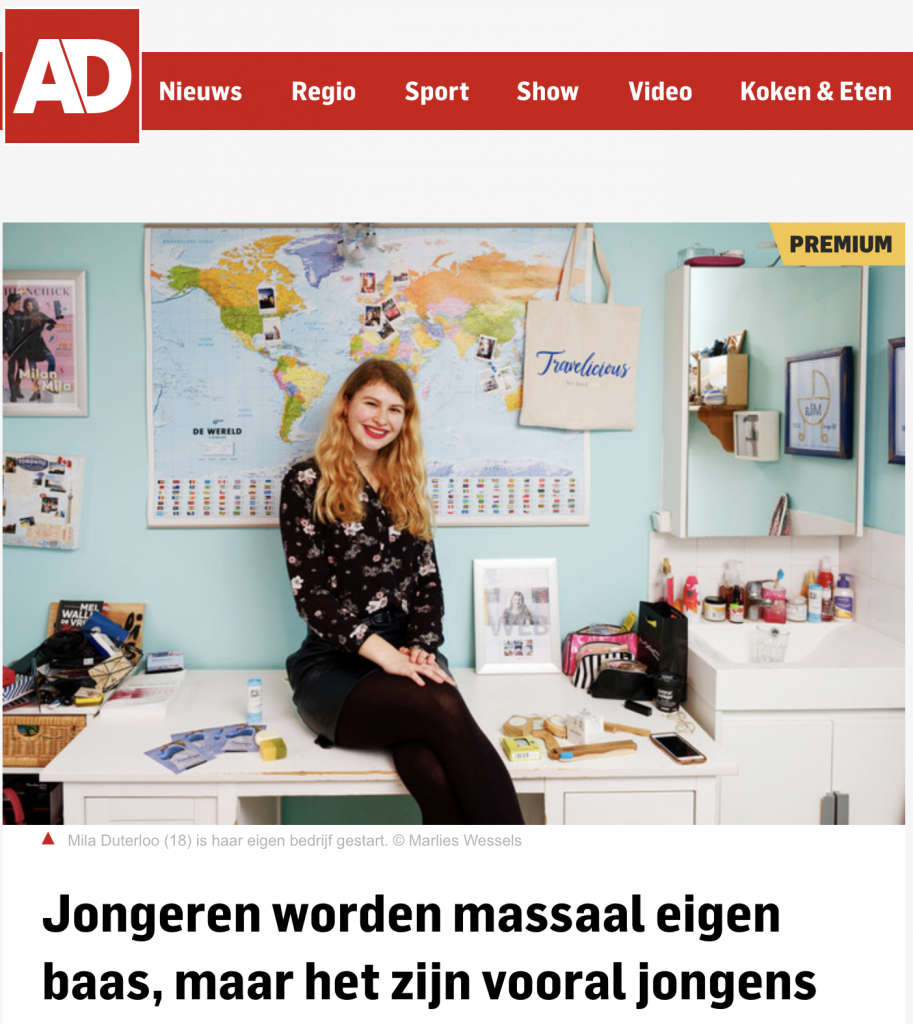 Artikel over Travelicious