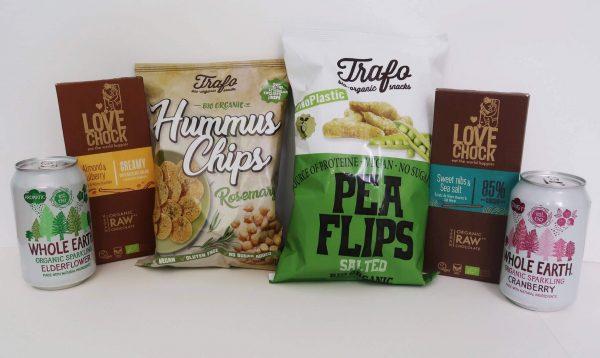 Healthy snack kit inhoud